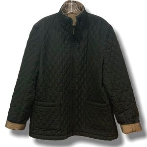 GIACCA REVERSABLE ZIP UP JACKET SIZE L